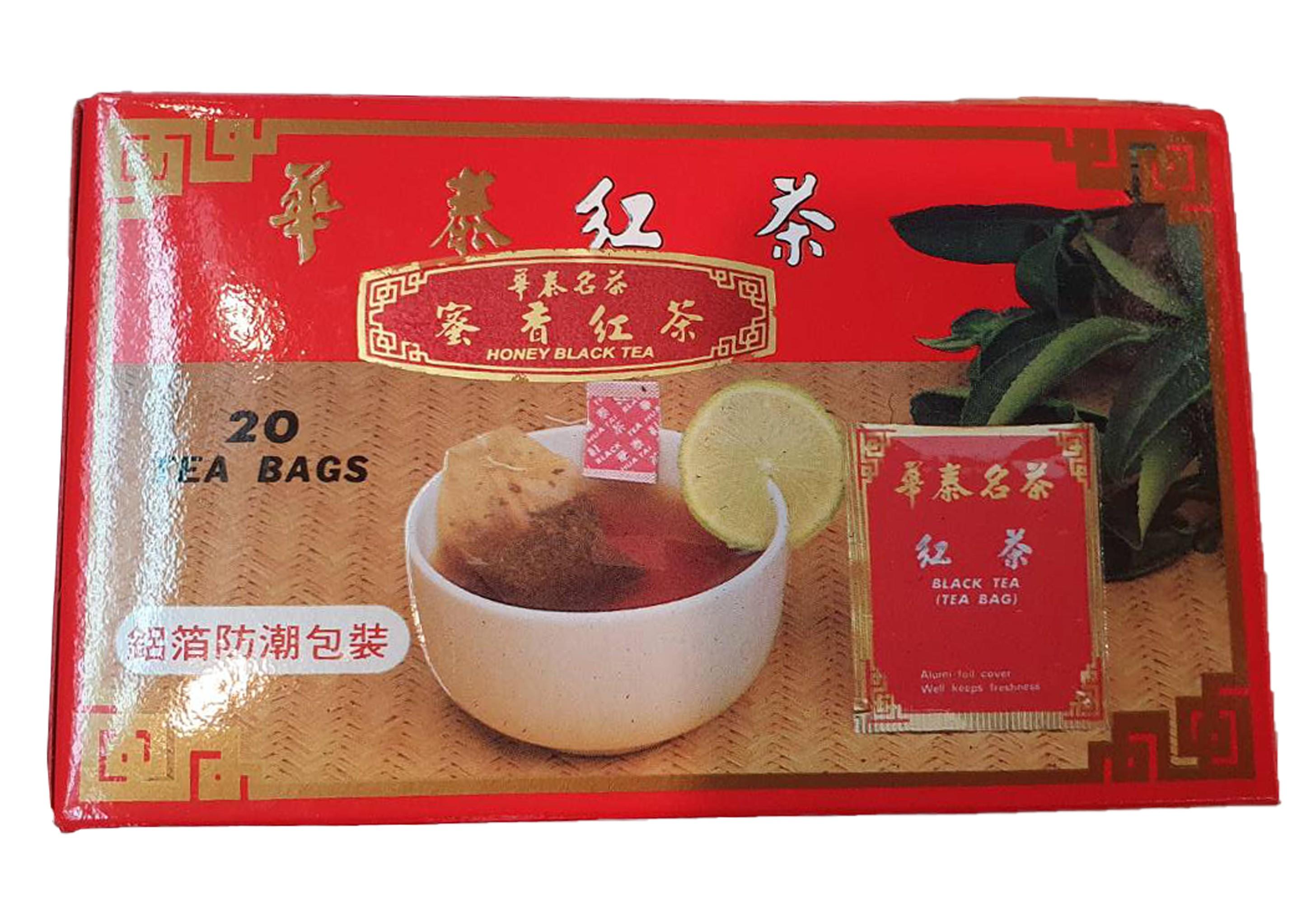 「華泰茶莊」蜜香紅茶茶包 20包  每包2g