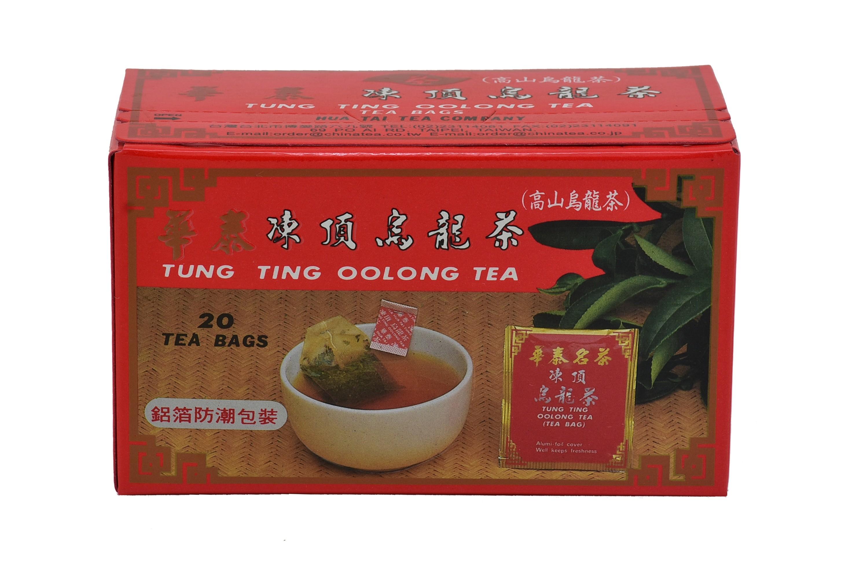 「華泰茶莊」凍頂烏龍茶茶包 20包  每包2g