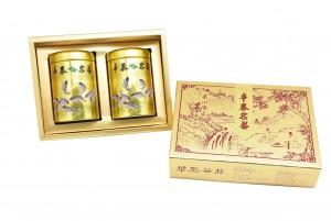 「華泰茶莊」凍頂烏龍茶 (品特) 80g-金罐+鐵觀音茶 (品特) 80g-金罐